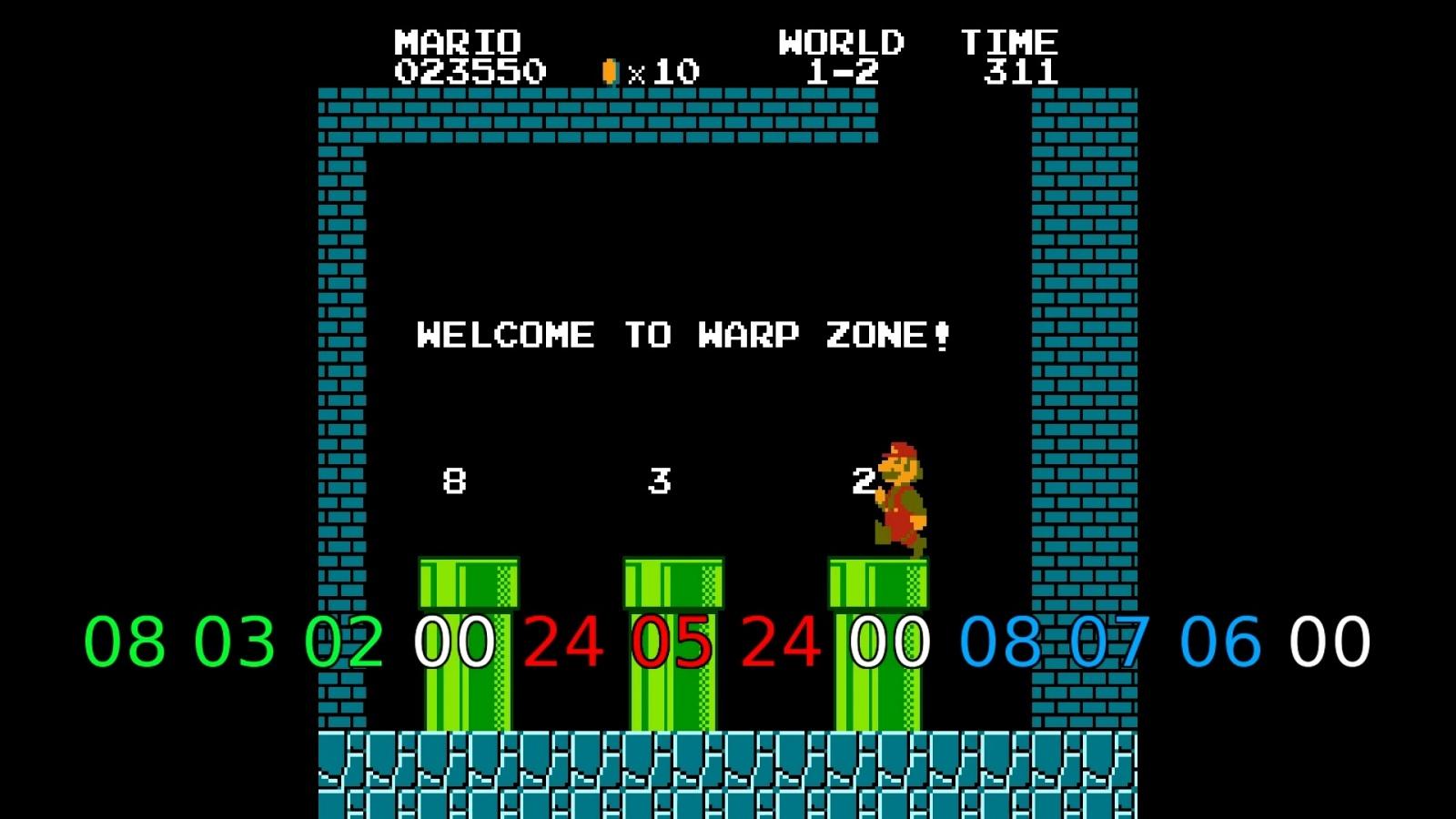 Как работает баг с миром −1 в Super Mario Bros - 4