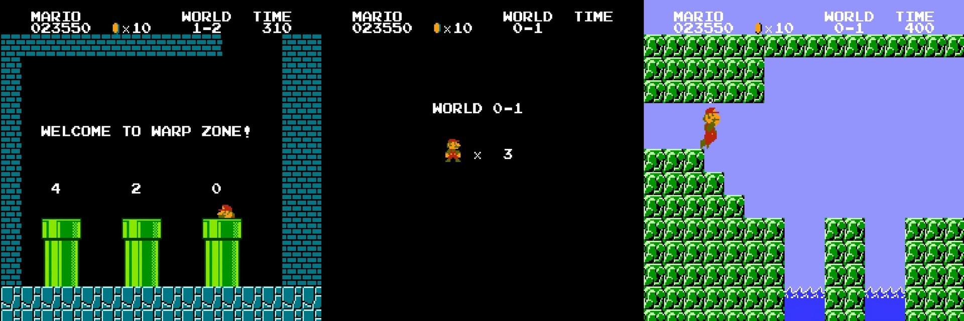 Как работает баг с миром −1 в Super Mario Bros - 5