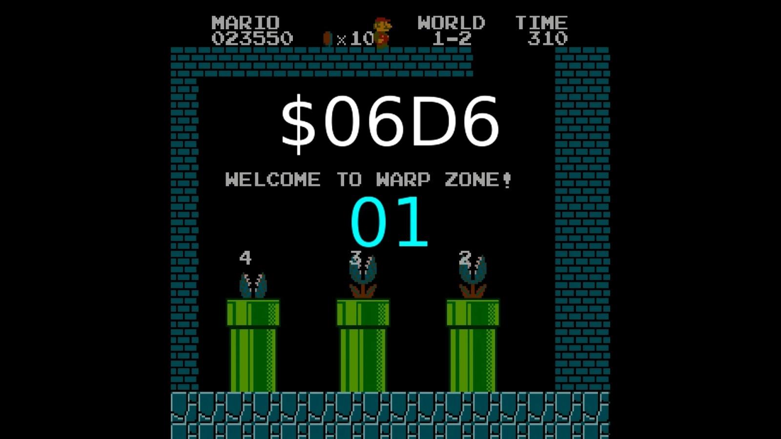 Как работает баг с миром −1 в Super Mario Bros - 9