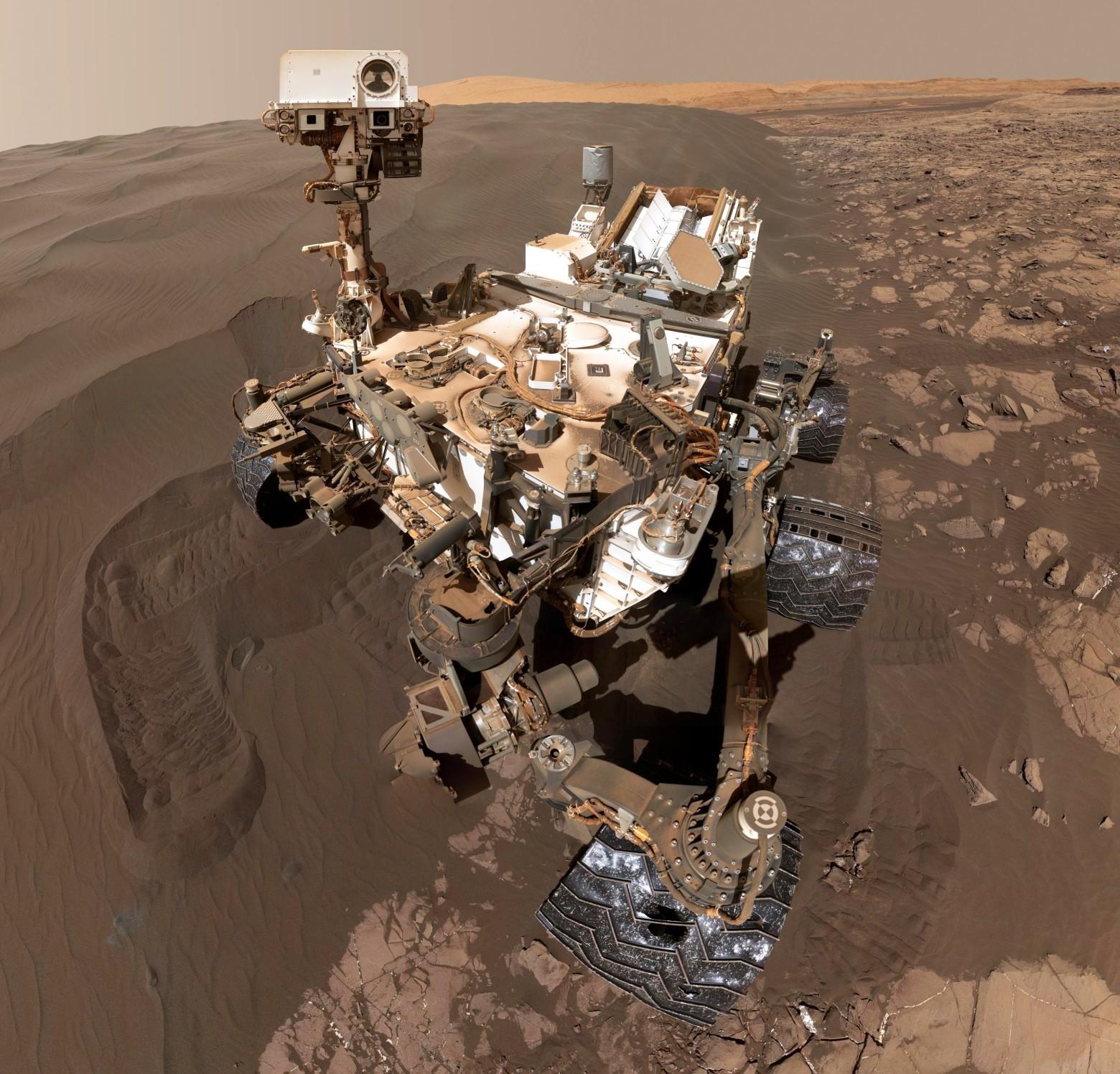 НАСА испытало роторный экскаватор для Марса - 4