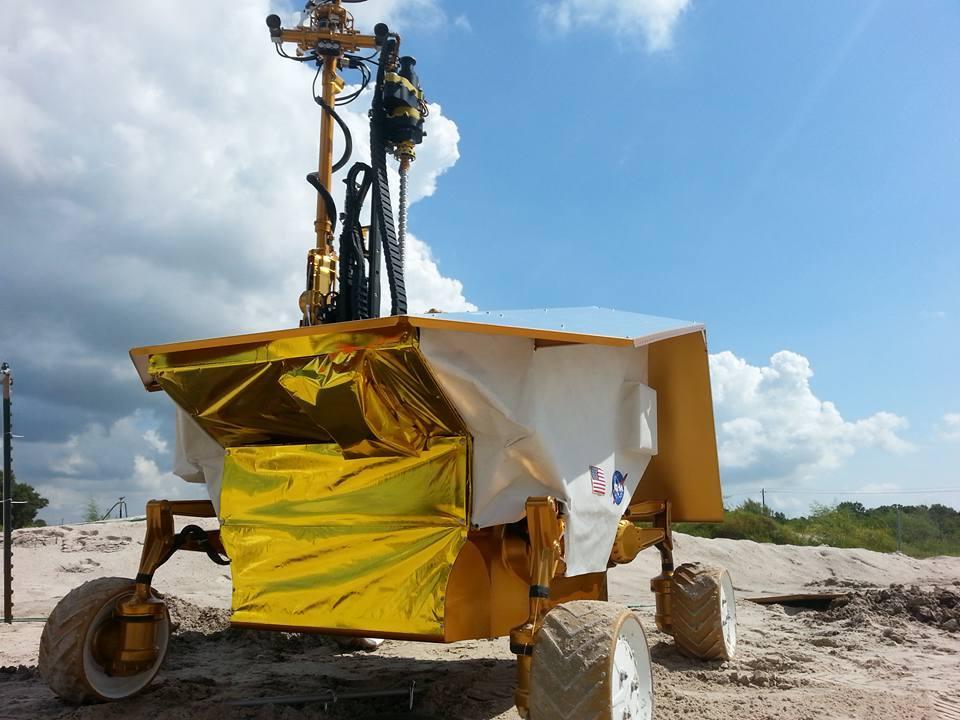 НАСА испытало роторный экскаватор для Марса - 5