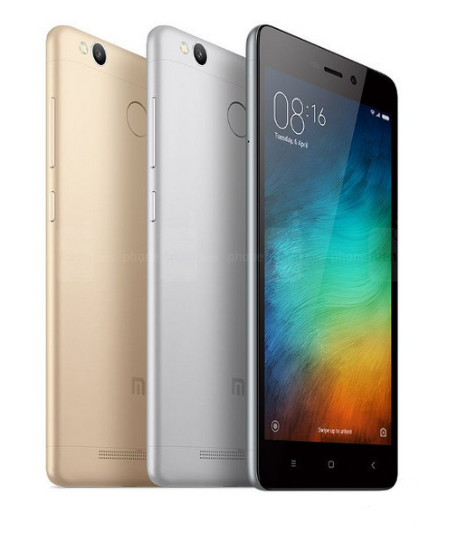 Смартфон Xiaomi Redmi 3S Plus доступен за $145