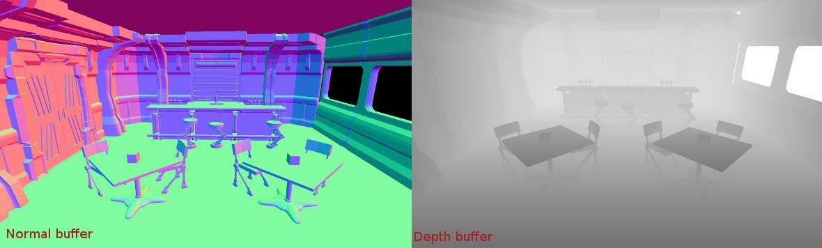 OpenGL ES 2.0. Отложенное освещение - 1