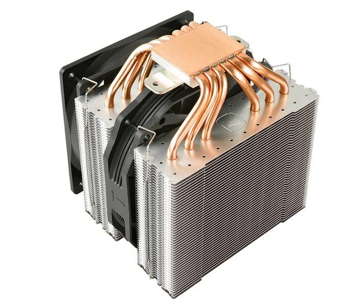 Охладитель SilentiumPC Grandis 2 XE1436 весит более 1 кг