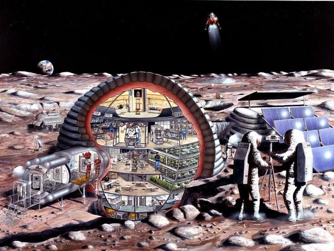 Космические жилища, ч. 2: как мы будем жить на Луне - 8