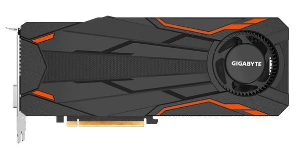 Видеокарта Gigabyte GeForce GTX 1080 Turbo OC 8G оснащается турбиной
