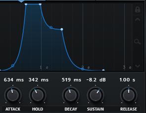 Программирование&Музыка: ADSR-огибающая сигнала. Часть 2 - 15