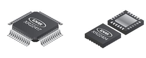 В числе примеров применения контроллеров Exar XR22404 и XR22417 производитель называет стыковочные станции