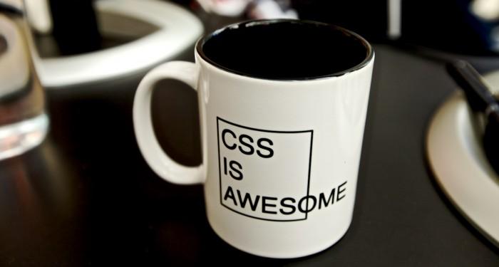 Кружка «CSS потрясающий»
