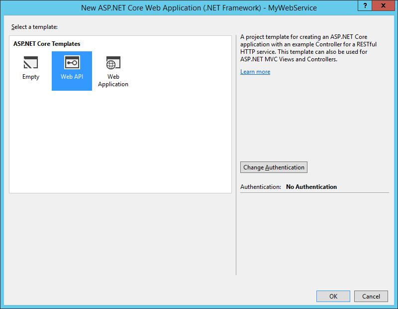 ASP.NET Core: Создание внешнего интерфейса веб-службы для приложения - 4