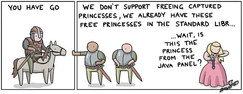 Как спасти принцессу, используя 8(+40) языков программирования, в пятницу - 6
