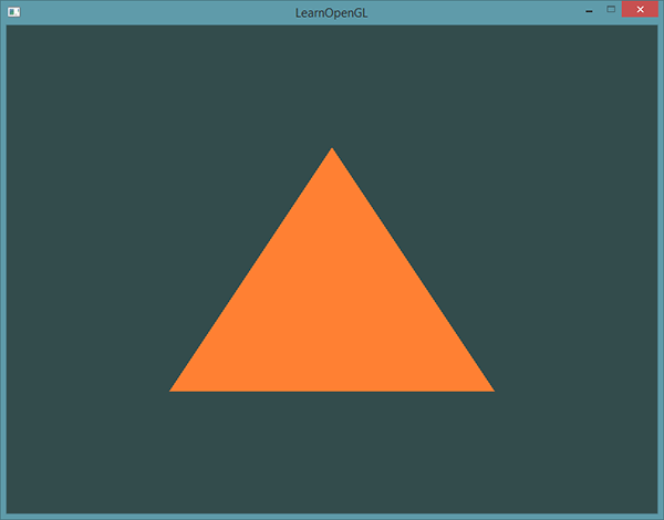 learnopengl. Урок 1.4 — Hello Triangle - 6