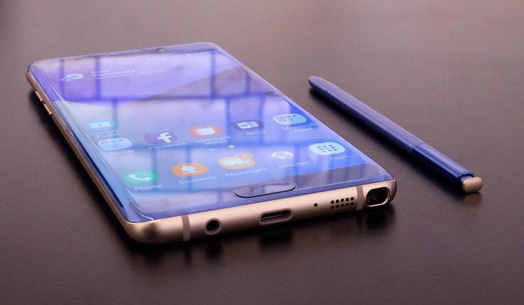Отзыв смартфонов Galaxy Note7 не стал трагедией для Samsung