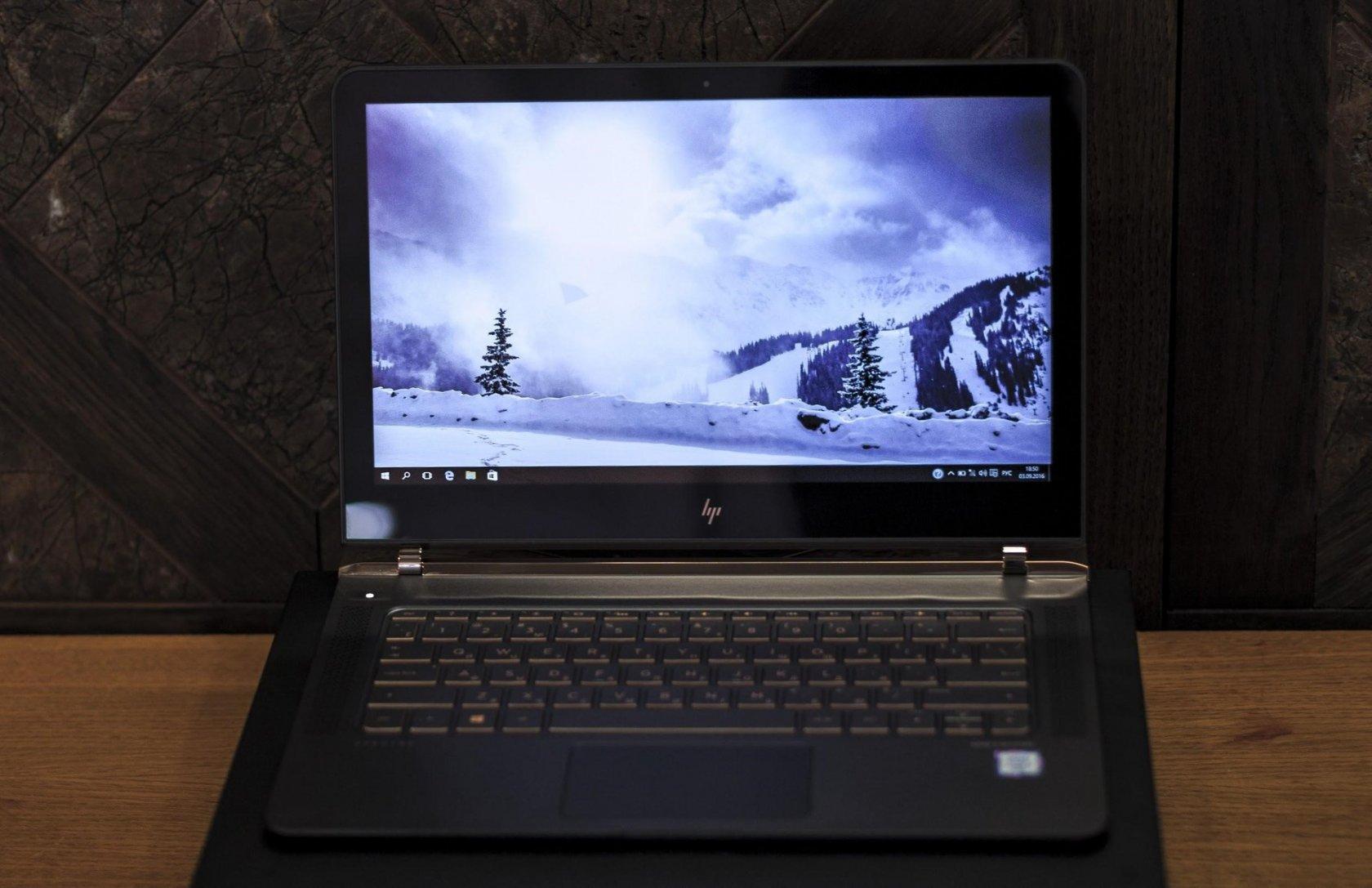 Технологии и дизайн в одном устройстве. Ноутбук HP Spectre 13 - 24