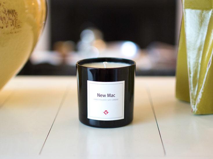 Компания TwelveSouth выпустила свечи New Mac