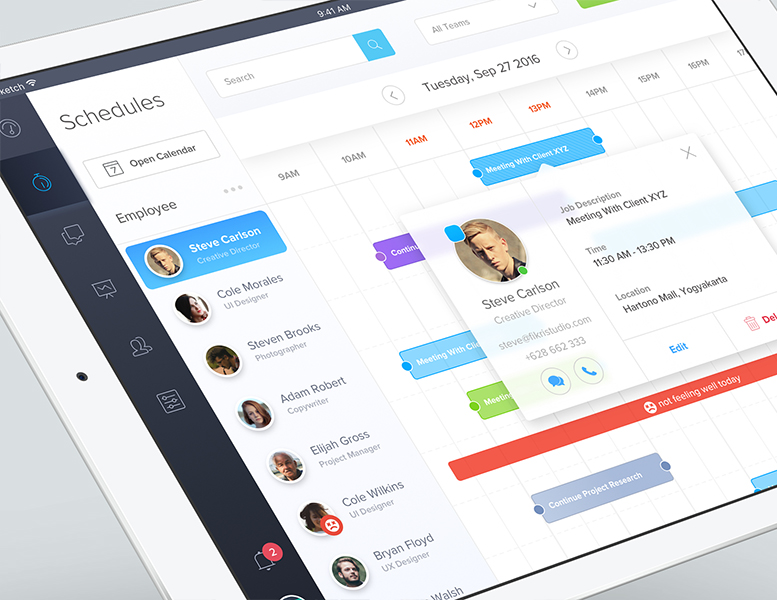Dribbble: обзор наиболее интересных дизайнов интерфейсов за прошедшую неделю - 7
