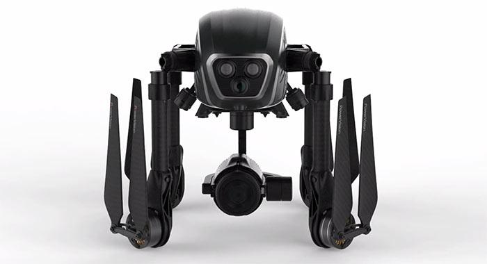 Дрон PowerVision PowerEye весит менее 4 кг и держится в воздухе почти полчаса