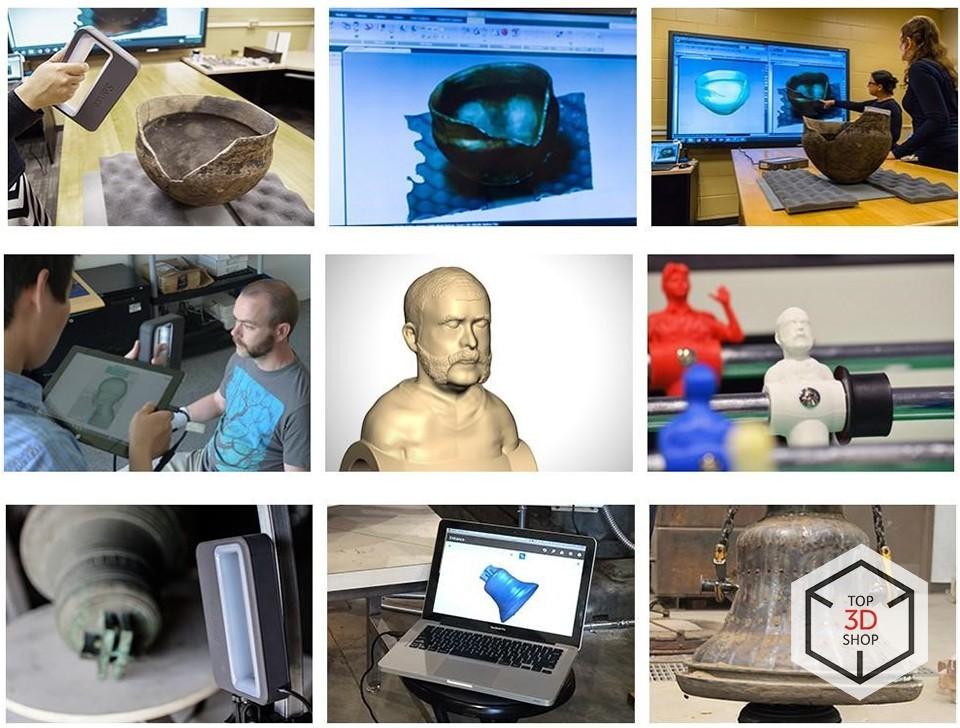 [Обзор] 3D-сканер Sense нового поколения - 19