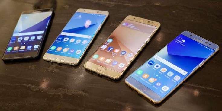 Производство смартфонов Samsung Galaxy Note7 приостановлено