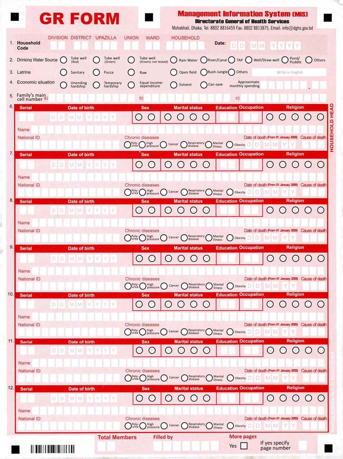 Как мы помогали проводить медицинскую перепись в Республике Бангладеш - 5
