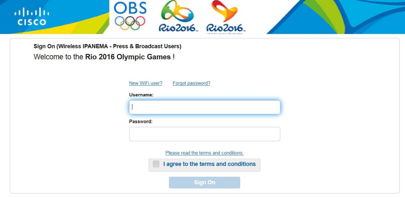 Олимпийский портал для журналистов