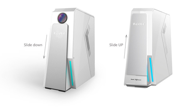 Мини-ПК Gole2 со встроенной веб-камерой и аккумулятором представлен на Indiegogo