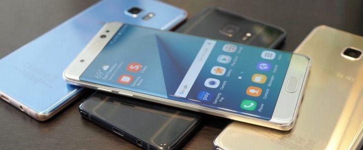 Samsung снова приостанавливает продажи Note7 до выяснения причин проблемы