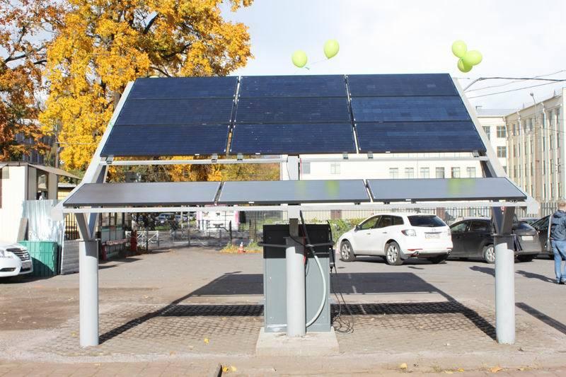 Как мы построили первую в России заправку электромобилей от солнечной энергии - 11
