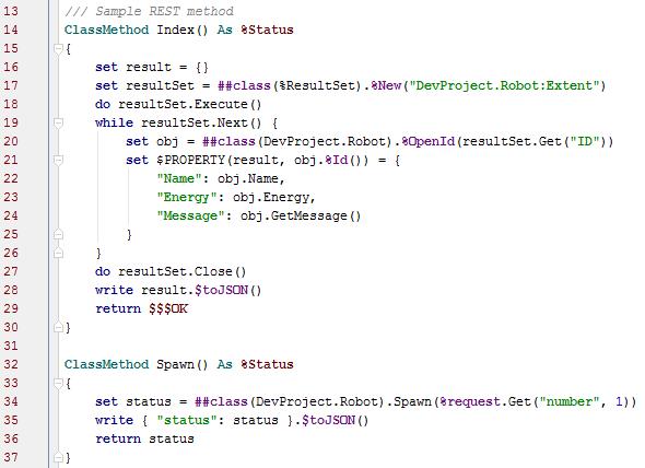 Разработка в InterSystems Caché в вашей любимой IDE - 7
