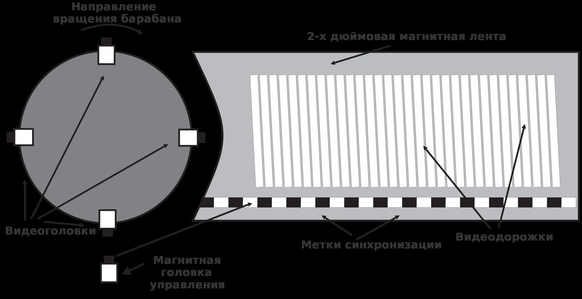 Видеозапись и магнитная лента - 5