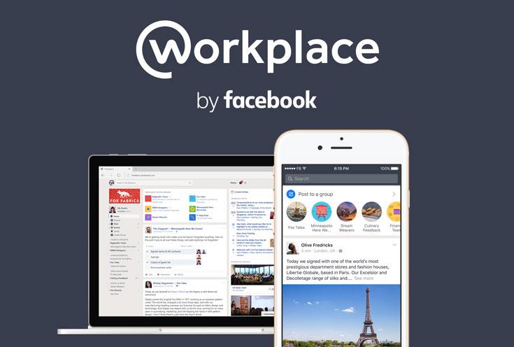 Заработал сервис корпоративного общения Facebook Workplace