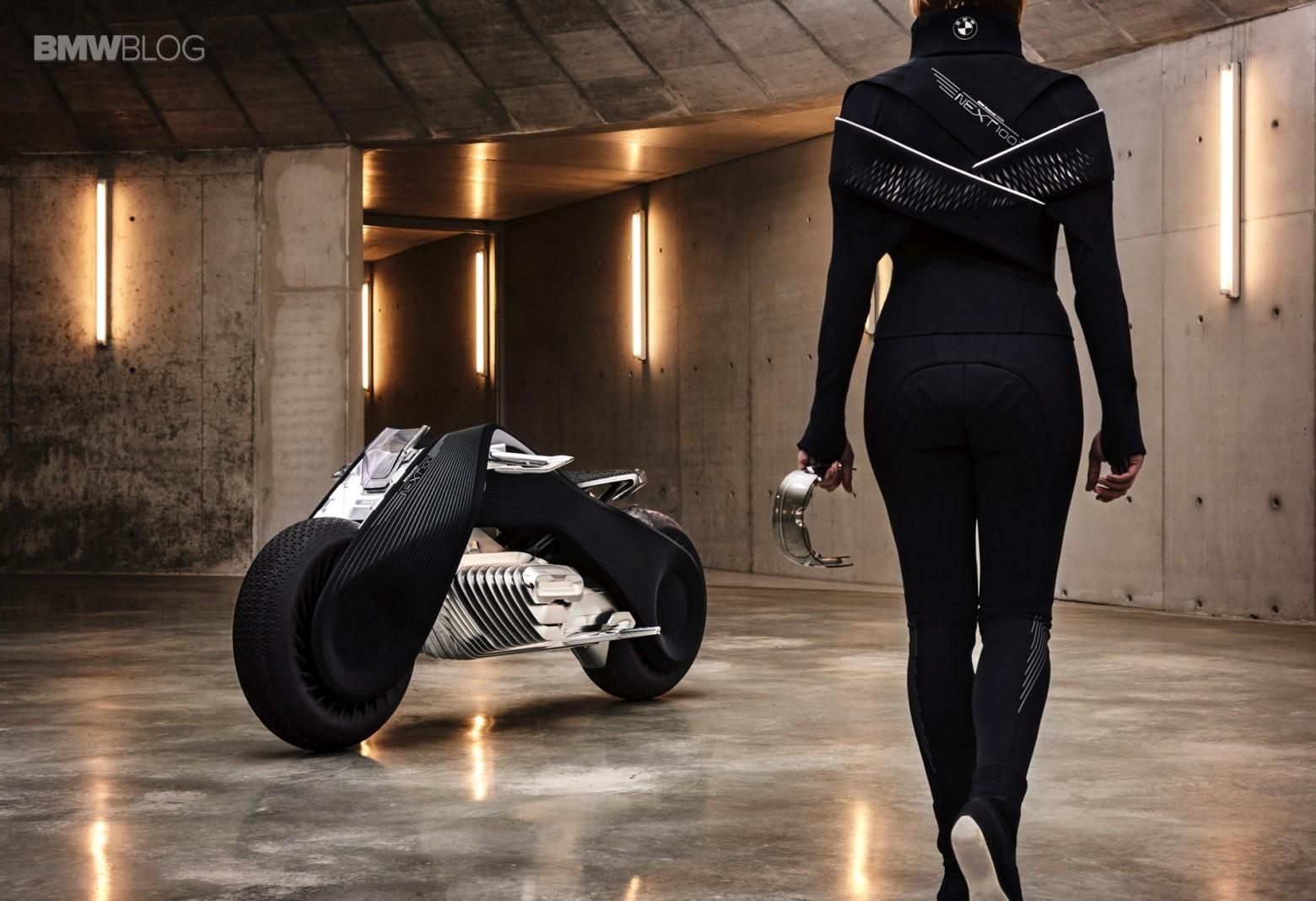 Концепт гибкого мотоцикла BMW Motorrad VISION NEXT 100 - 14