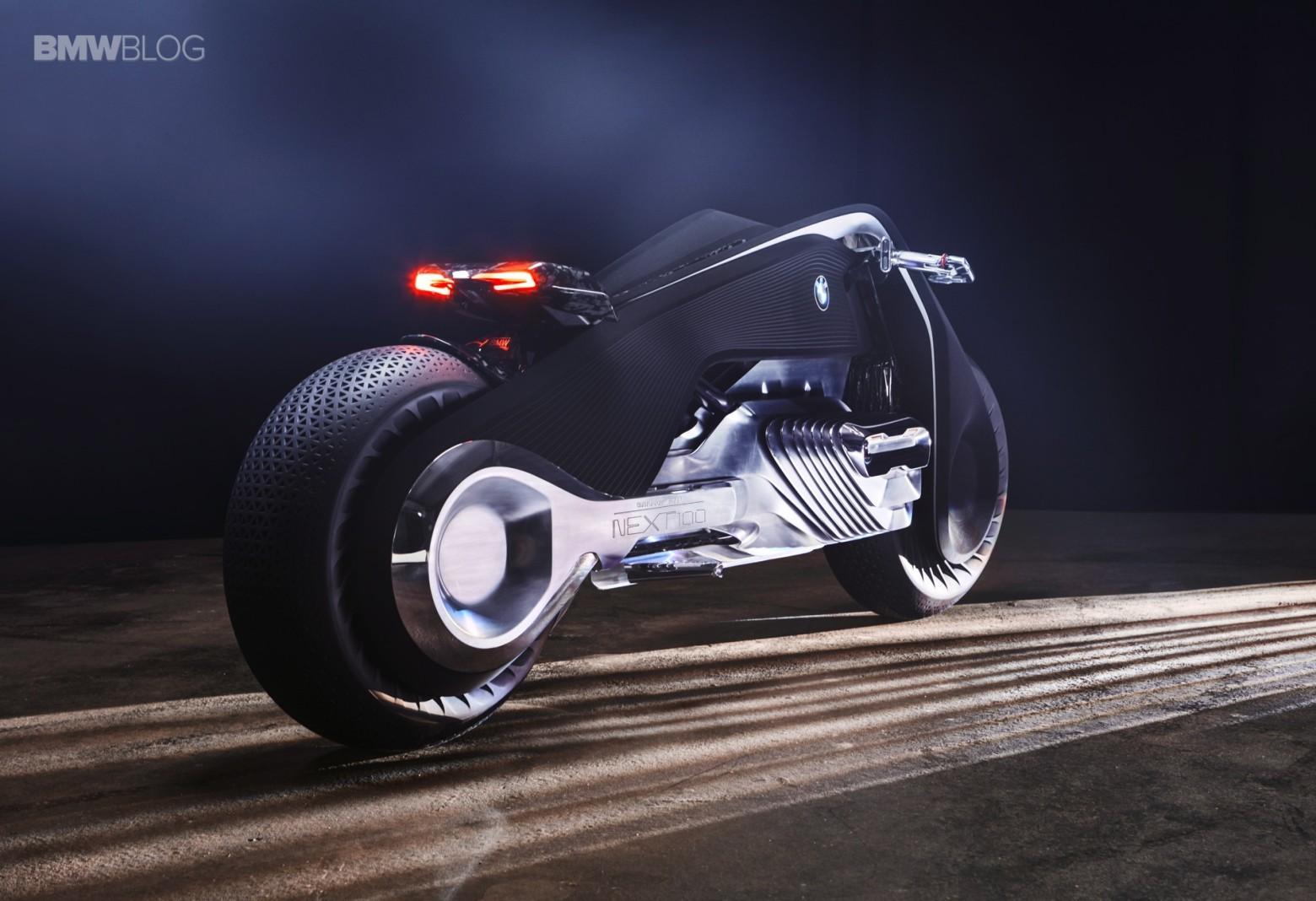 Концепт гибкого мотоцикла BMW Motorrad VISION NEXT 100 - 2