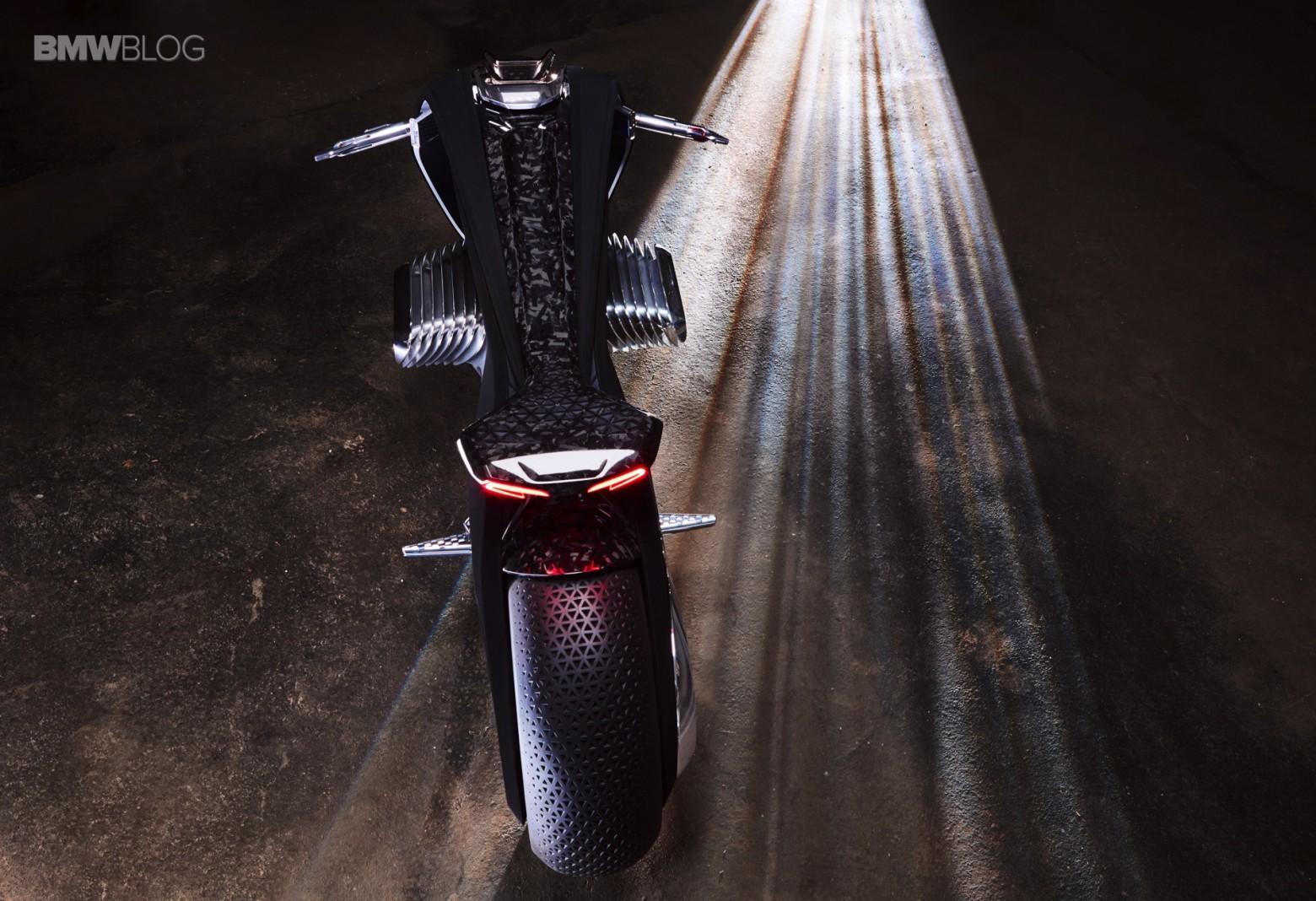 Концепт гибкого мотоцикла BMW Motorrad VISION NEXT 100 - 3