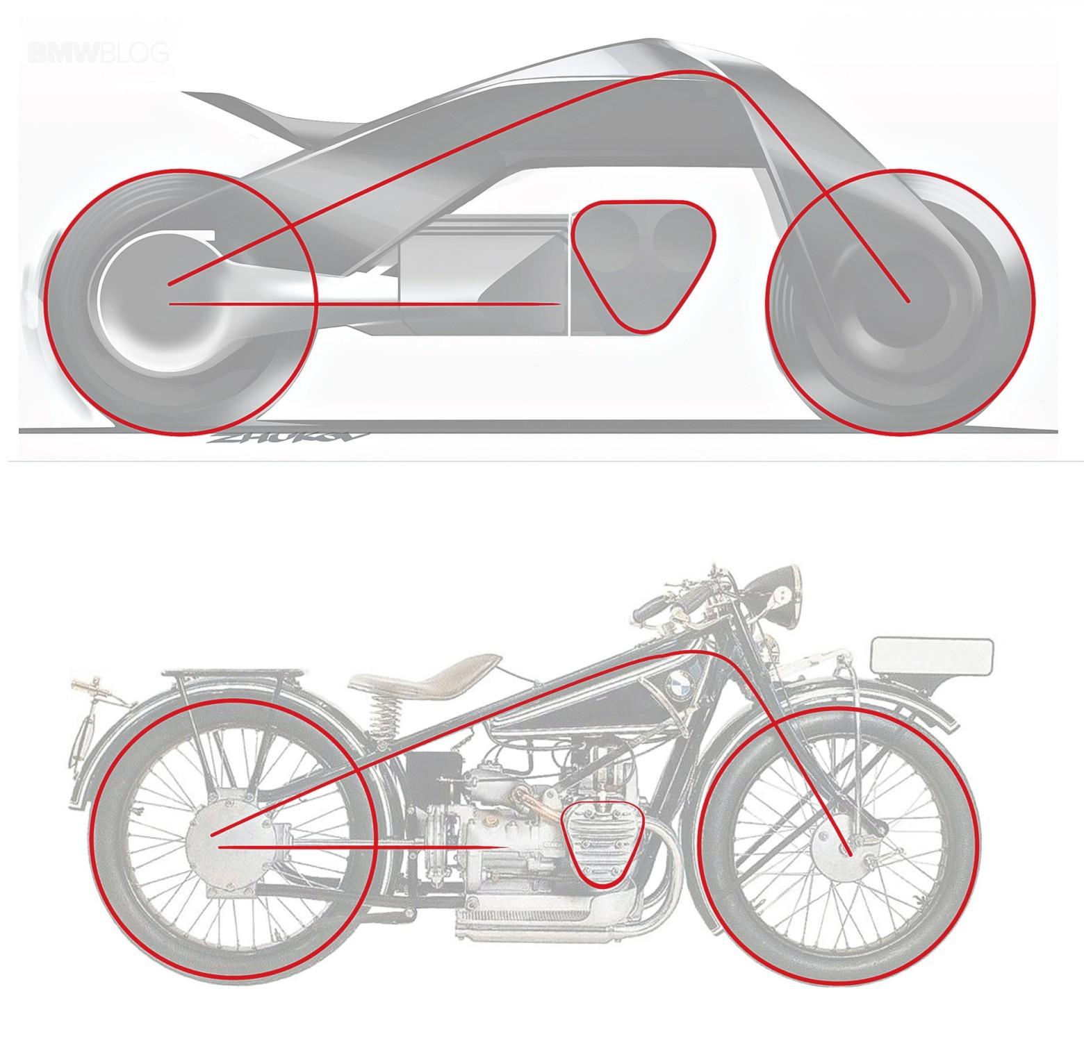 Концепт гибкого мотоцикла BMW Motorrad VISION NEXT 100 - 5