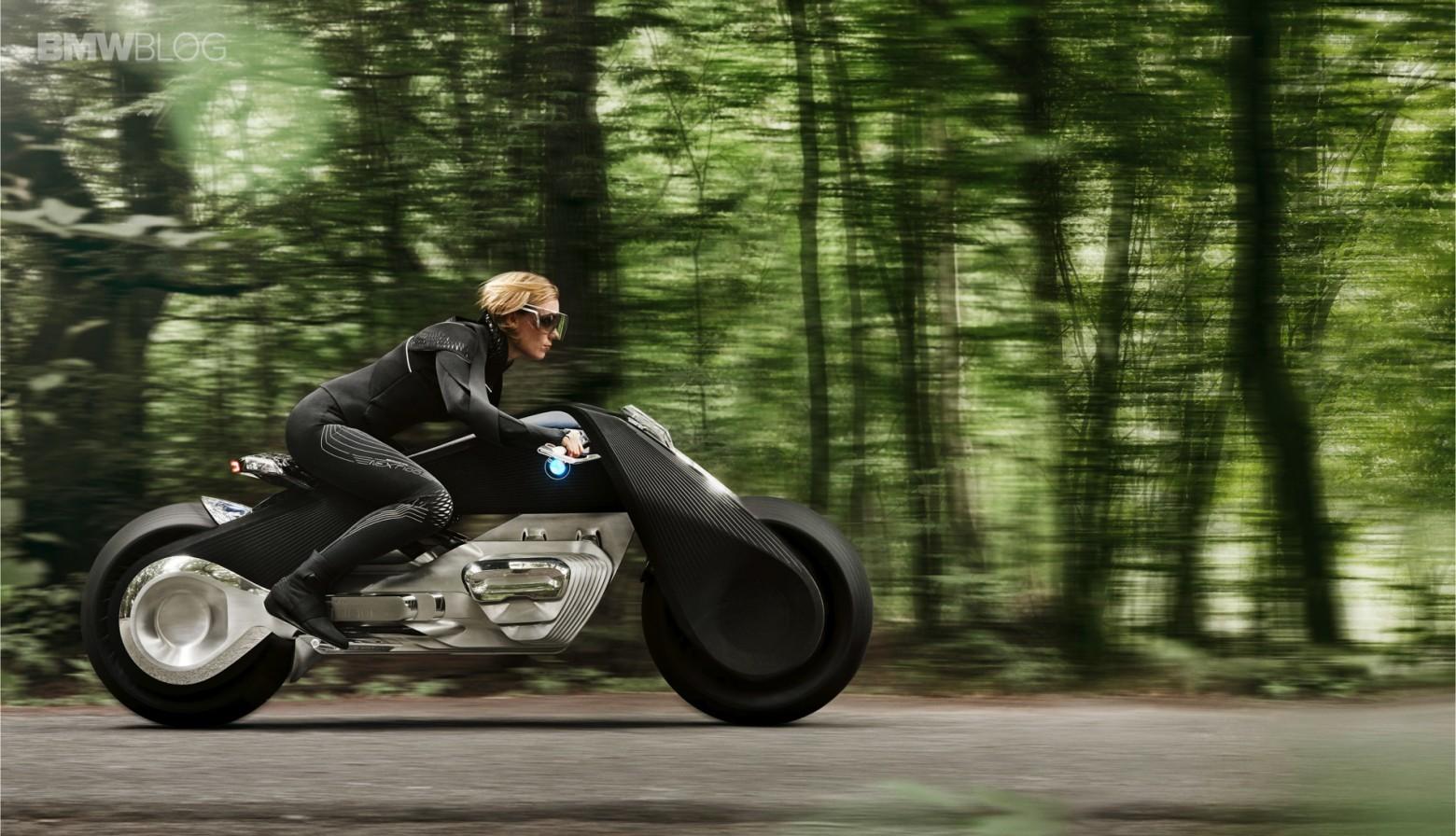 Концепт гибкого мотоцикла BMW Motorrad VISION NEXT 100 - 6