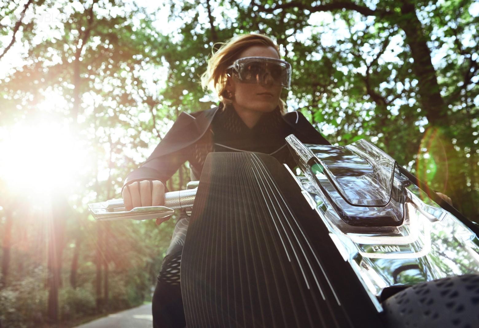 Концепт гибкого мотоцикла BMW Motorrad VISION NEXT 100 - 7