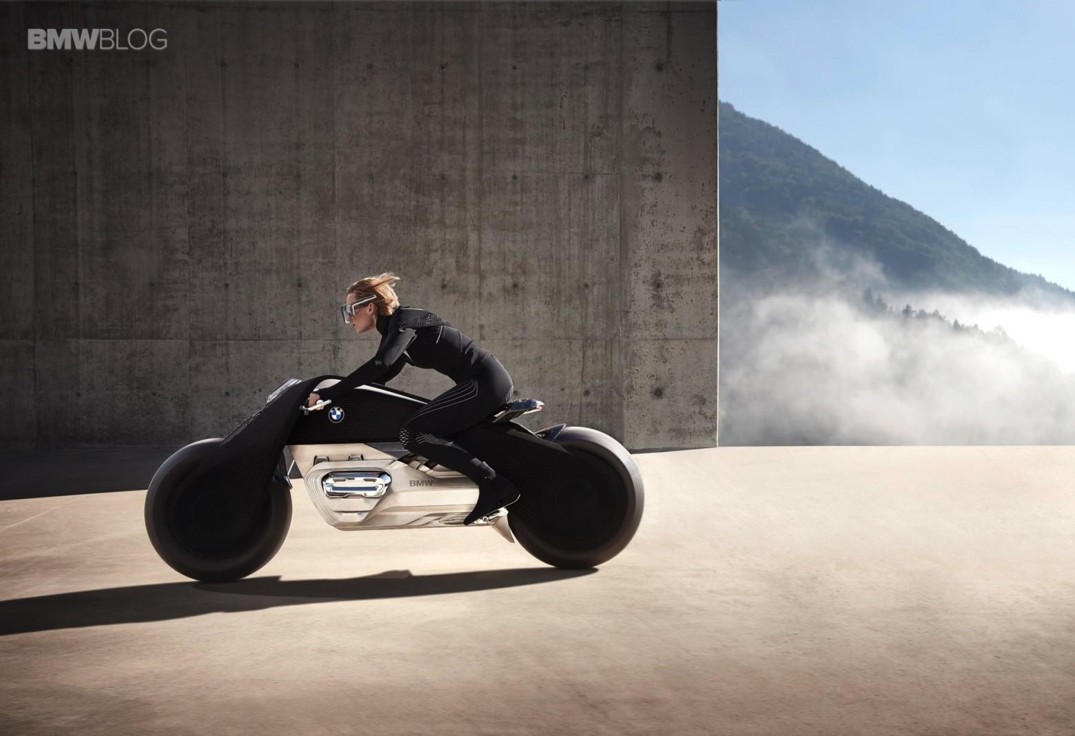 Концепт гибкого мотоцикла BMW Motorrad VISION NEXT 100 - 8