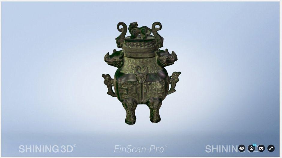 Обзор Einscan S и Einscan PRO - 12