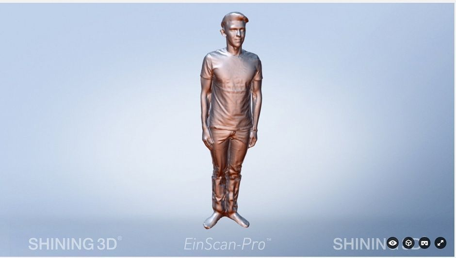 Обзор Einscan S и Einscan PRO - 13