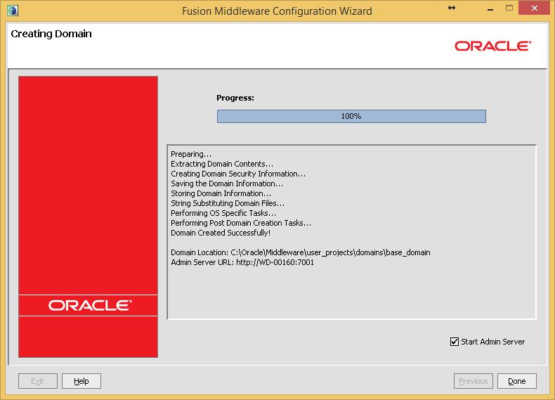 Разработка заглушек бизнес-процесса на языке BPEL на основе Oracle SOA Suite и Weblogic - 28