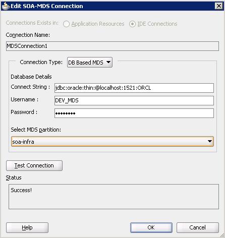 Разработка заглушек бизнес-процесса на языке BPEL на основе Oracle SOA Suite и Weblogic - 37