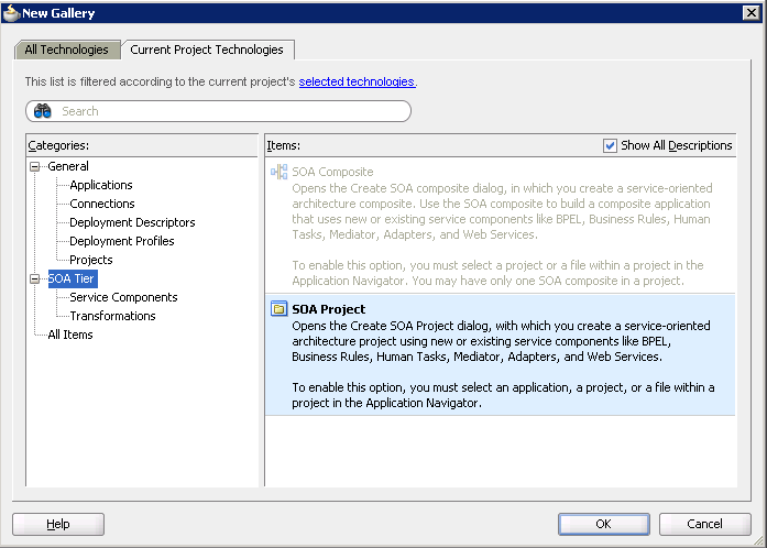 Разработка заглушек бизнес-процесса на языке BPEL на основе Oracle SOA Suite и Weblogic - 38