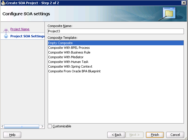 Разработка заглушек бизнес-процесса на языке BPEL на основе Oracle SOA Suite и Weblogic - 40