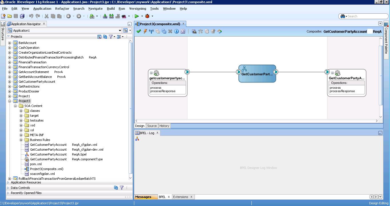 Разработка заглушек бизнес-процесса на языке BPEL на основе Oracle SOA Suite и Weblogic - 43