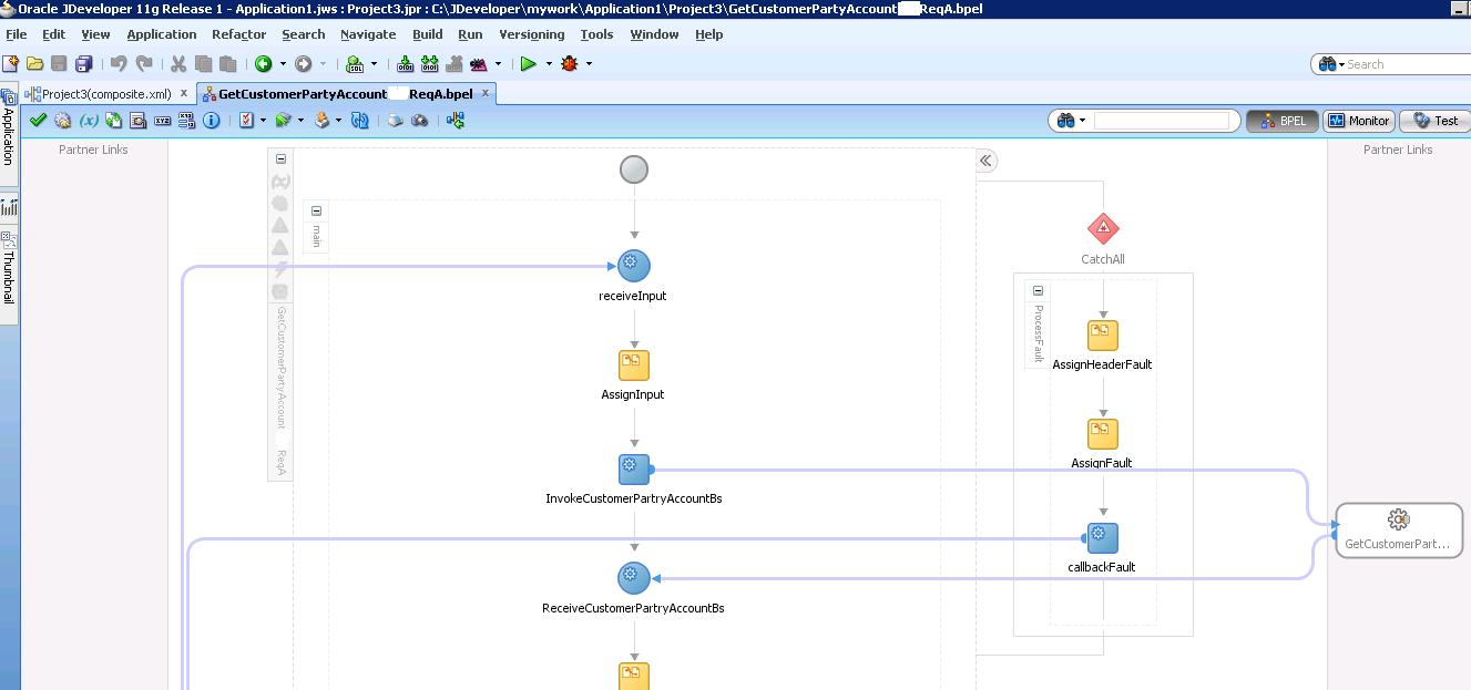 Разработка заглушек бизнес-процесса на языке BPEL на основе Oracle SOA Suite и Weblogic - 44