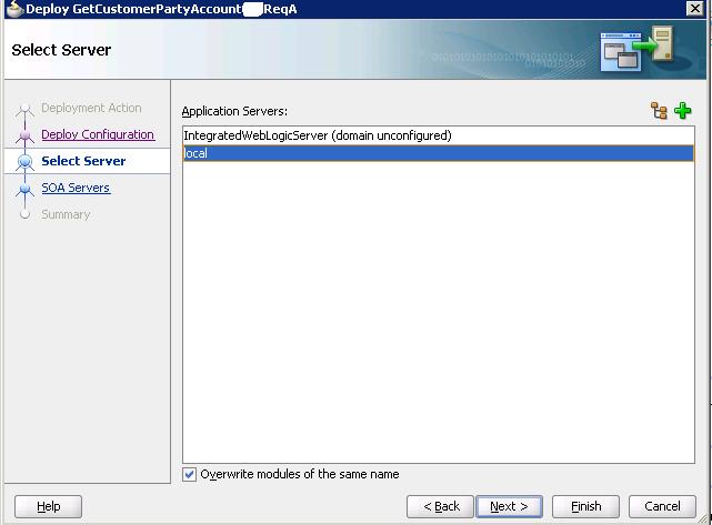 Разработка заглушек бизнес-процесса на языке BPEL на основе Oracle SOA Suite и Weblogic - 48