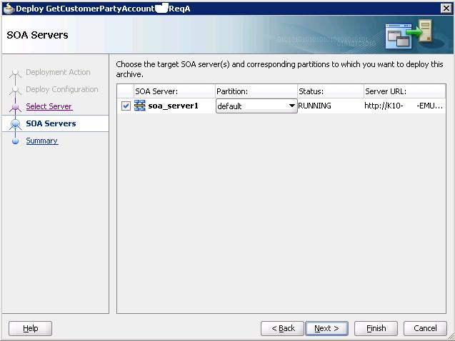 Разработка заглушек бизнес-процесса на языке BPEL на основе Oracle SOA Suite и Weblogic - 51