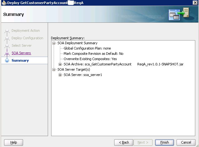 Разработка заглушек бизнес-процесса на языке BPEL на основе Oracle SOA Suite и Weblogic - 52