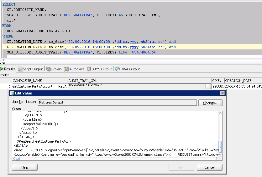 Разработка заглушек бизнес-процесса на языке BPEL на основе Oracle SOA Suite и Weblogic - 60
